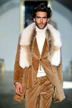 Always a winner in this fur ensemble.  #excellent #fur #mensfashion