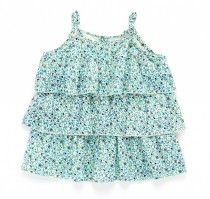 ouch - ruffle floral tank.