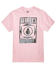 b4c8437d7e12e Volcom Men s Evince Logo-Print T-Shirt
