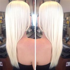 White-Hot Winter  Blonde Color Formula