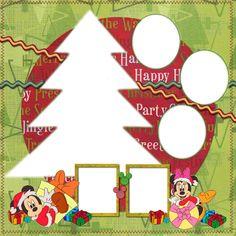Marcos Navideños de Minnie y Mickey para Imprimir Gratis. | Ideas y material gratis para fiestas y celebraciones Oh My Fiesta!
