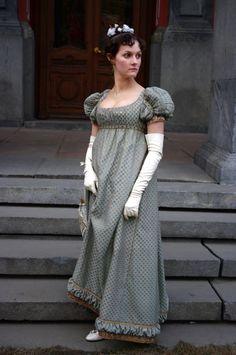 regency bal gown 1812-1814