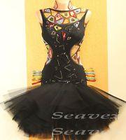 Women Ballroom Latin Salsa Rumba Samba Dance Dress US 6 UK 8 Same Color