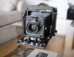 "4x5 Horseman HF ; great ""little"" 4x5 camera"