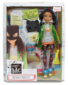 Amazon.com: Project Mc2 Experiment with Doll - Bryden's Light-Up Bracelet: Toys…