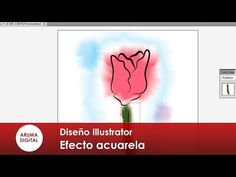 (974) Illustrator 001 Efecto acuarela - YouTube Illustrator Tutorials, Youtube, Illustration, Watercolor Painting, Illustrations, Youtubers, Youtube Movies