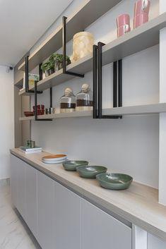 Loft Kitchen, Apartment Kitchen, Home Decor Kitchen, Kitchen Furniture, Kitchen Interior, New Kitchen, Home Kitchens, Modern Kitchen Design, Sweet Home
