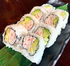 Types of Sushi Rolls: Description with Photos Shrimp Sushi Rolls, Shrimp Tempura, Tempura Sushi, Types Of Sushi Rolls, Sushi Types, Sushi Lunch, Sushi Sushi, Sushi Party, Recipes