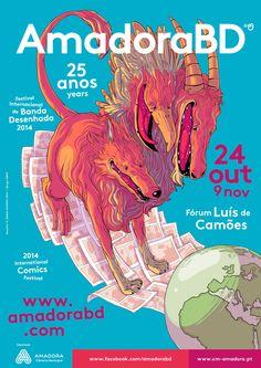 25º Amadora BD Ilustração por Joana Afonso