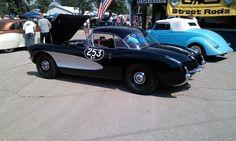 C1 Corvette Racer at a car show