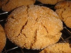PUMPKIN SNAPS * Spicy, sugar-coated COOKIES ** ship and freeze well **