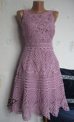 Click to view pattern for - Crochet beautiful dress