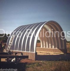 DuroSPAN-Steel-25x24x12-Metal-Building-Kit-Shelter-Storage-Shed-Open-Ends-DiRECT