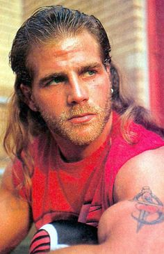 Shawn Michaels. Lord have mercy!