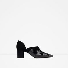 COWBOY HEELED SHOES from Zara
