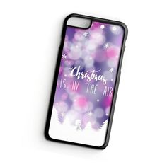 Christmas Is In The Air iPhone 6s Plus Case   ^ Materials : Plastic, Rubber ^ Colors : Black, White, Transparent #iPhone #iPhone6sPlus #iPhoneCase #iPhone6sPlusCase #phoneCase #mobileCase #ariesand #ariesandCase #christmas #christmasPhoneCase