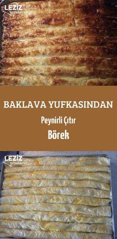 Baklava Yufkasından Peynirli Çıtır Börek Turkish Recipes, Banana Bread, Sandwiches, Food And Drink, Appetizers, Gourmet, Turkish Cuisine, Puddings, Drizzle Cake