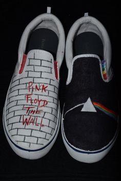 Pink Floyd Album Covers | Pink Floyd Album Cover Shoes by ~Uchua on deviantART