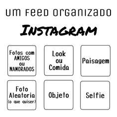 Como organizar seu feed