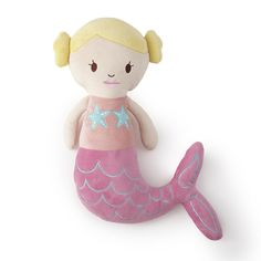 Toys R Us Exclusive! The Levtex Kids Mermaid Decorative Pillow is the perfect companion for your child. Shaped like a mermaid and made of plush material, this smiling mermaid is ready to be your daughters best friend!<br><br>The Levtex Kids Mermaid Decorative Pillow Features:<br><ul><li>Toys R Us Exclusive! </li><br><li>Mermaid shaped plush</li><br><li>Makes for a great gift for any young girl! </li><&#...