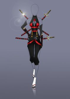 Referencia de roupa estilo...ninja (?).