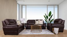 Upholstered in full top grain leather the San Lorenze creates the ultimate luxury living space. Leather Lounge, Leather Sofa, Lounge Suites, Living Spaces, Living Room, At Home Furniture Store, 2 Seater Sofa, Leather Furniture, Luxury Living