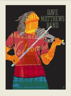 Dave Matthews Band Posters Mansfield 2012 Poster June 5