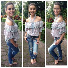 Este outfit Hippie Chic lo puedes encontrar en Michi Boutique en la Guacima de Alajuela. Info 24380084
