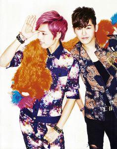 [MAG/SCAN] Infinite H - 10+ Asia Magazine, Dongwoo & Hoya
