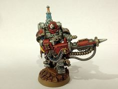 40k - Techmarine with Conversion Beamer by TheStickmonkey