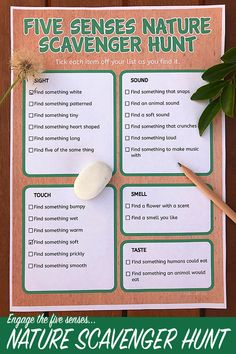 - Nature Scavenger Hunt Printable: Exploring Nature With the 5 Senses – youthful scavenger hunt ideas kids , scavenger hunt ideas for kids , hunt ideas for kids outdoor , scavenger hunt ideas Outdoor Scavenger Hunts, Nature Scavenger Hunts, Scavenger Hunt For Kids, Scavenger Hunt Clues, School Scavenger Hunts, Nature Activities, Summer Activities, Toddler Activities, Outdoor Activities