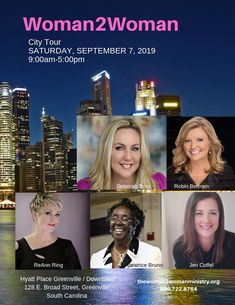 Women's Conference in Greenville, SC - September 2019 Michael W Smith, Presence Of The Lord, Jennifer Williams, September 7, Forever Grateful, Original Song, Carrie Underwood, Women Empowerment, Photo Sessions