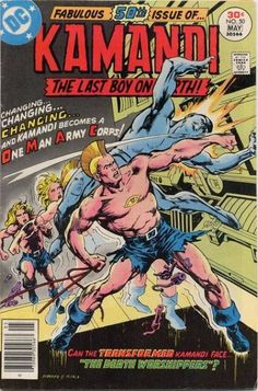 Kamandi, The Last Boy on Earth #50 - The Death Worshippers! (Issue)