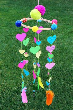 Share the Love: Create A Valentine's Heart Mobile. By Jane Can with Seedling