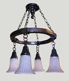 Bastion Series – 4-Light Chandelier WGS-1200-D | Modern Bungalow