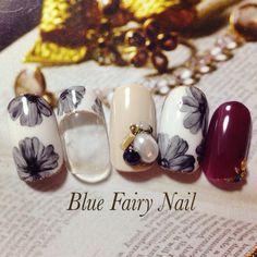 ネイル 画像 Blue Fairy Nail ブルーフェアリーネイル 千里丘 624332