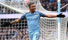 Gabriel Jesus scored two to beat Swansea