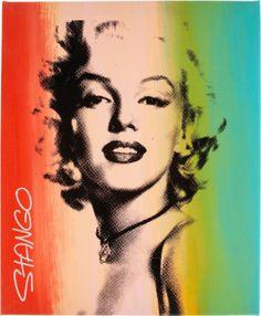 John Stango Marilyn Monroe Silkscreen Print