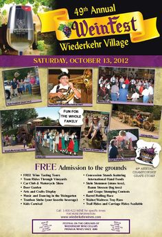 Wiederkehr Wine Cellars winery in Altus, Arkansas, love to attend their WeinFest Festival every year. Love to watch the grape stomping competitions!