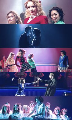 """Heathers the Musical - """"Fine. We're damaged. Really damaged. But that does not make us wise. We're not special, we're not different. We don't choose who lives or dies."""""""