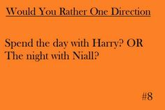 spend the night with niall