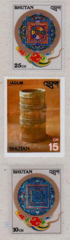 Bhutan - Postage Stamps.