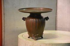 Bronze Usubata Flower Vase – Edo Arts