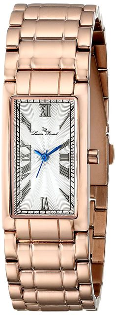 Lucien Piccard Women's 'Marchesa' Rose Gold-Tone Stainless Steel Watch >>> To view further for this item, visit the image link. Lucien Piccard, Neck Piece, Beautiful Watches, Marchesa, Stainless Steel Watch, Gold Watch, Jewelery, Rose Gold, Wrist Watches