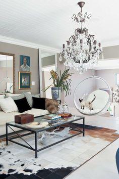 Modernes Wohnzimmer Kristallkronleuchter Sofa Weiß Sofa Weiß, Wohnideen  Wohnzimmer, Wohnzimmer Modern, Innendesign