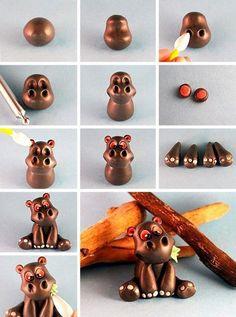 Polymer Clay Figures, Polymer Clay Dolls, Polymer Clay Miniatures, Fondant Figures, Polymer Clay Projects, Polymer Clay Charms, Polymer Clay Creations, Clay Crafts, Fondant Animals