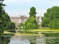 Buckingham Palace by OfficialJesse trees sky landscape lake beauty nature travel clouds tree building beautiful natural london uk engla St James' Park, Travel Album, Sky Landscape, Unique Buildings, Buckingham Palace, British Royals, Tourism, How To Memorize Things, London