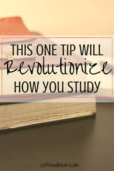 Want to know one of the best ways you can study? Read this! This one study tip will be the BEST you ever hear. Revolutionize how you study as a college student.