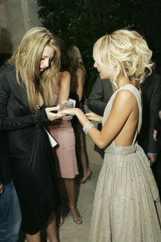 Nicole Richies hair! and the dress isnt so bad either