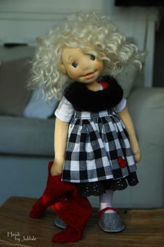 Heidi - waldorf inspired doll by julilale